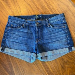 7 for all mankind Jean shorts, 29